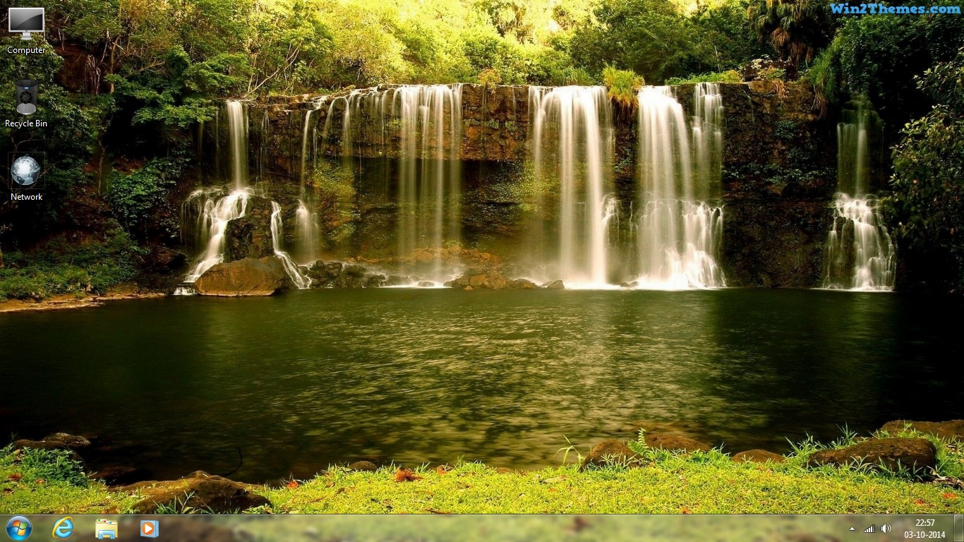 Waterfall Themes - Thousands of Free Themes